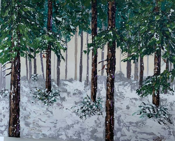 Winter in the Pines